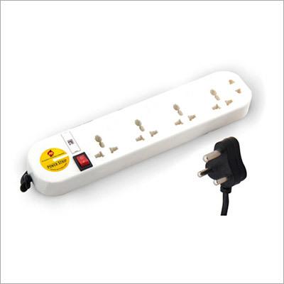 Power Strip 5 Way Single Switch With Universal Skt