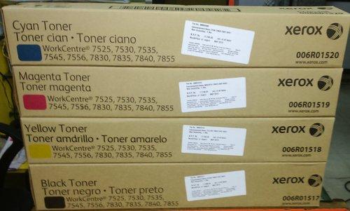 For Use In Toner Cartridge, Xerox 7525,7530,7535,7546