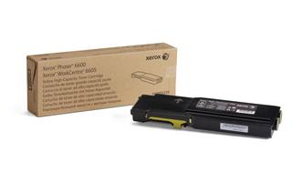 Xerox 6600 Yellow Laser Toner Cartridge