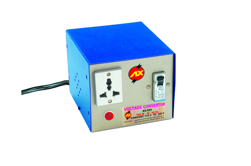 500 WATTS STEP UP  - VOLTAGE CONVERTER - 110 V - 230 V
