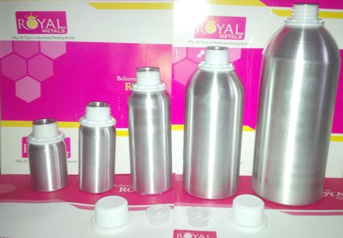 Cosmetic Aluminum Bottles