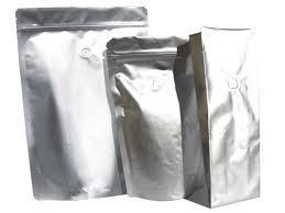 Standup Zipper Coffee Pouch Bag