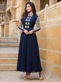 Multicolored Designer Salwar Kameez