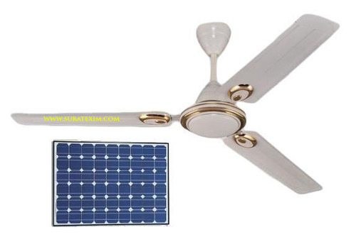 Outdoor Solar Ceiling Fan 48 inch