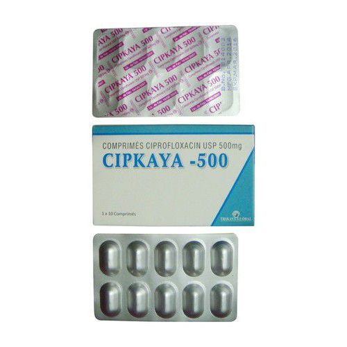 Ciprofloxacin 500 MG Tablet