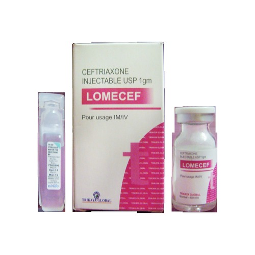 Ceftriaxone Injection 1 gm