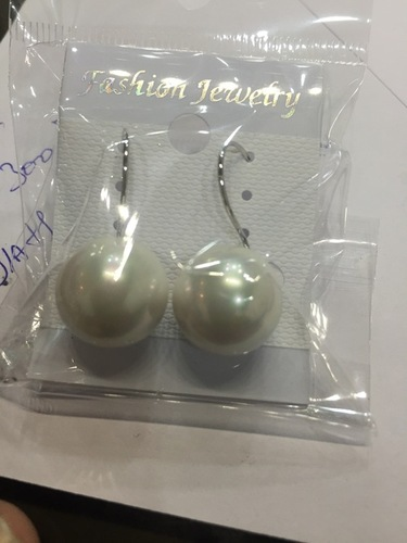 real gold plated pearl earings