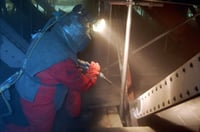 Industrial Grit Blasting Services