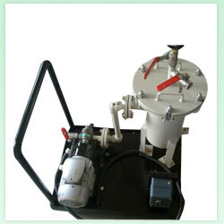 Portable Oil Filter Unit