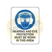 Hearing And Eye Protection Recommended