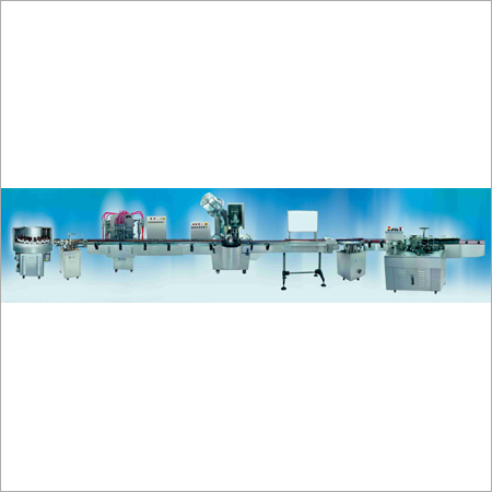 Automatic Linear Bottling Line