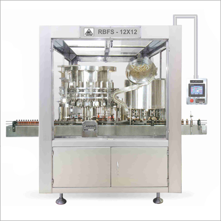 Monoblock Rotary Bottle Sealing Machine