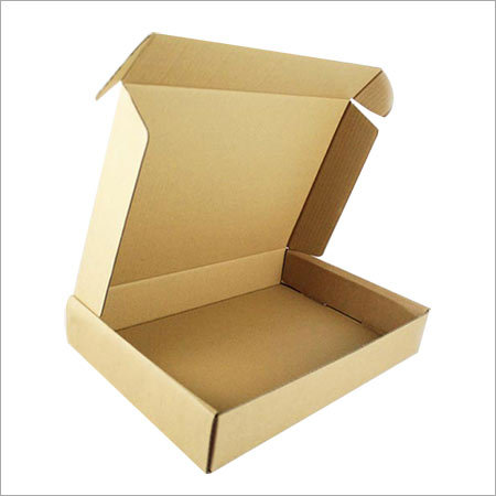 Brown Corrugated Pizza Packaging Boxes