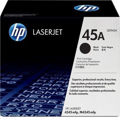 HP Q5945A 45A Black Laser Toner Printer Cartridge