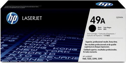 HP Q5949A 49A Black Laser Toner Printer Cartridge