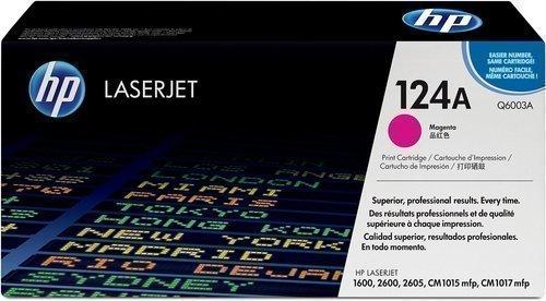HP Q6003A 124A Magenta Laser Toner Printer Cartridge