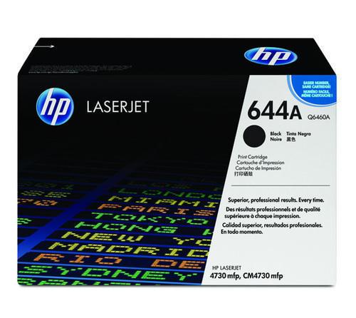 HP Q6460A 644A Black Laser Toner Printer Cartridge