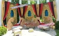 Asian Wedding Backdrop Decorations