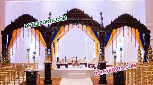 Ancient Indain Wedding Stage set