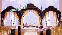 Ancient Indain Wedding Stage set