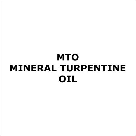MTO- Mineral Turpentine Oil