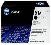 HP Q7551A 51A Black Laser Toner Printer Cartridge