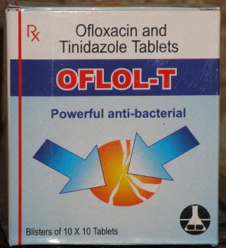 Ofloxacin 200  Mg + Tinidazole 600  Mg