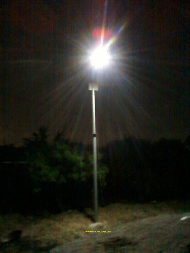 Automatic Solar Street Light