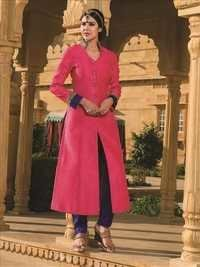 Attractive Pink Designer Salwar Kameez