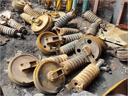 Excavator Undercarriage Parts - Idlers & Chain Adj