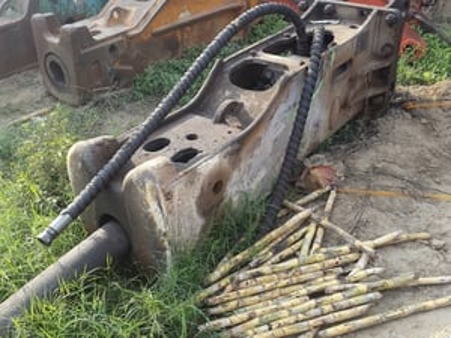 Daemo Hydraulic Rock Breaker For Excavators
