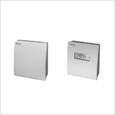 Siemens Room Mounted Temperature + Rh Sensors (With Display & Without Display)