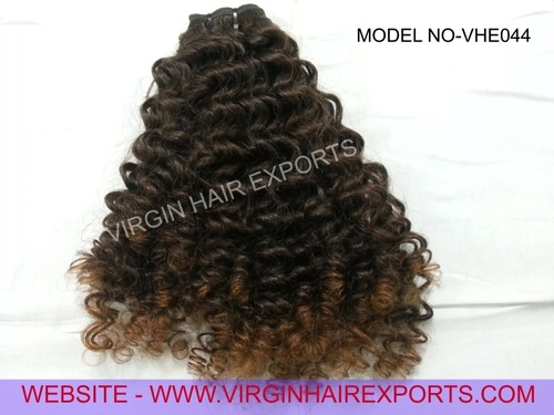 Two Tone Curly Hair Extension
