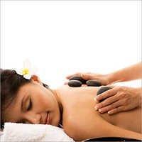 Stone Back Massage