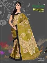 Designer Cotton Sarees In Jetpur