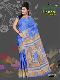 Party Wear Cotton Saree In Jetpur