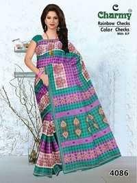 Cotton Saree Exporter Jetpur