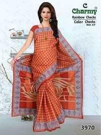 Cotton Saree Supplier Jetpur