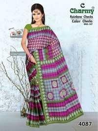 Indian Traditional Cotton Saree Manufacturer