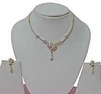 Precious Stone Necklace Sets