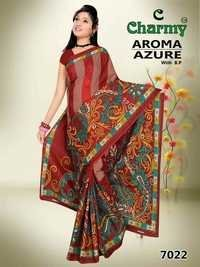 Pure Cotton Printed Saree