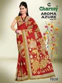 Joyful Designer Cotton Saree