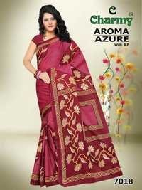 Joyful Cotton Printed Sarees