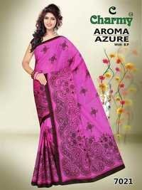 Design Cotton Saree Catalog