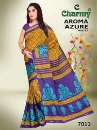 Pure Cotton Fancy Saree