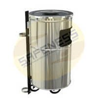 Pole Mounted Litter Bins