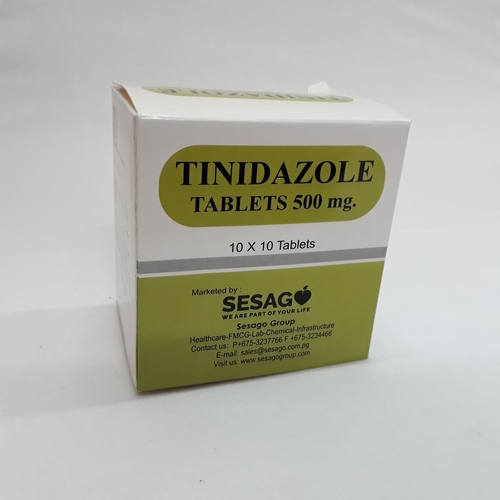 Tinidazole 500 Mg