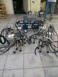 Pipe Line or Fixed Type Milking System