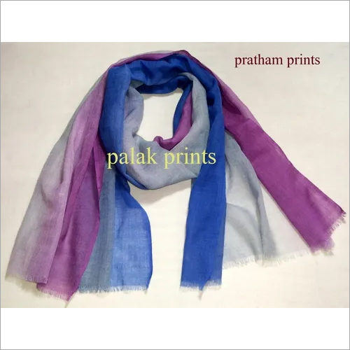 Stylish Linen Ombre Scarves