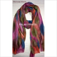 Wool Tye Dye Scarves